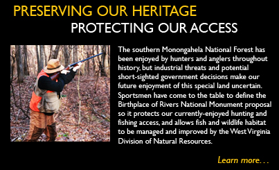 Hunting in Birthplace of Rivers National Monument