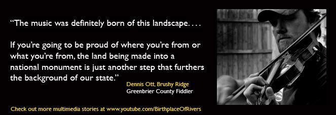 Dennis Ott Greenbrier County West Virginia fiddler